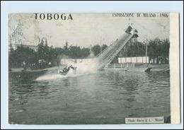 Y4518/ Esposizione  Di Milano 1906  TOBAGO   Wasserrutsche Italien Mailand 1906 - Unclassified