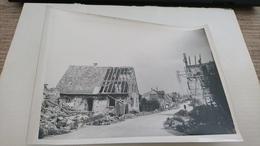 Photo 13x18 Haguenau 1944 Bonbardement Marxenhausen - Lieux
