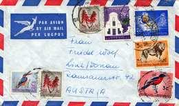 Südafrika - FP Brief Mit Schöner 7 Fach Frankierung, Brief Ohne Inhalt - Südafrika (1961-...)