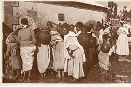 Ethiopie. CPSM. ADDIS ABEBA. Une Fontana Per Indigent. - Ethiopia