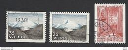Schweden, 1967, Michel-Nr. 575-576 A+D, Gestempelt - Usati