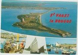 R: Manche : SAINT   VAAST  La  HOUGUE  : Vues  1973 - Saint Vaast La Hougue