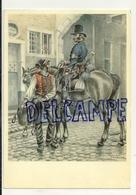 Musée Des Postes Et Télécommunications. Postillon Du Pays De Liège (1830-1840). D'après Un Dessin De James Thiriar - Poste & Facteurs