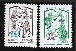 Fg 143  France Marianne De Ciappa Surchargée 2013-2018 N++ - 2013-... Marianne Of Ciappa-Kawena