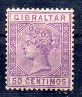 Sello  Nº 26  Gibraltar - Gibraltar