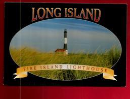CP Etats Unis USA New York Long Island Fire Island Lighthouse - Phare - Photo Ralph Pugliese 2001 - Long Island