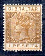 Sello  Nº 28  Gibraltar - Gibraltar