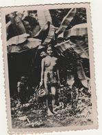 Photo Vers 1950 Jeune Femme Seins Nus Indochine Asie 2 - Ethnics