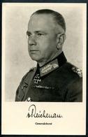 Ritterkreuzträger Generaloberst Walter Von Reichenau, Kommandant 6.Armee, - Weltkrieg 1939-45