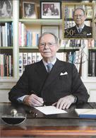 """Luxembourg: Grand-Duc Jean """"Funérailles D'Etat"""" 04 Mai 2019, Cachet Spécial Sur Carte Postale - Famille Grand-Ducale"""