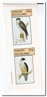 Staffa 1981, Postfris MNH, Birds Of Prey - Schotland
