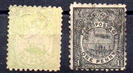 Sellos  Nº 41 Y 43  Fiji - Fiji (...-1970)