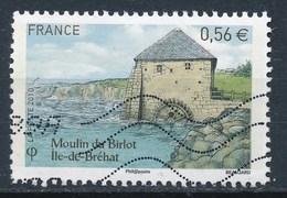 France - Les Moulins - Ile De Bréat YT 4490 Obl. Ondulations - France
