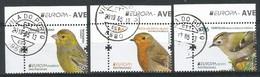 Portugal / Madeira / Acores  2019 , EUROPA CEPT Birds - Aves Nacionals - Gestempelt / Used / (o) - 2019