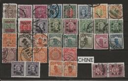 CHINE - CHINA . LOT 35V (USED) - Chine