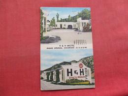 H & H Motel   Idaho Springs   Idaho   Ref 3352 - Etats-Unis