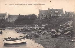 ILE DE BATZ - Le Port Du Saumon - L'Hôtel Robinson - Ile-de-Batz