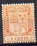 Sello Nº 136 Mauritius - Mauricio (...-1967)