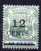 Sello Nº 95  Mauritius - Mauricio (...-1967)