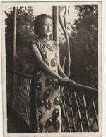 Photo Vers 1950  Jeune Chinoise Asie Indochine - Ethnics