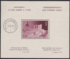 Belgie   .  OBP      .      Blok 8  (timbre: **)      .    *     .    Ongebruikt    .  /   .  Neuf Avec  Charniere - Blocs 1924-1960