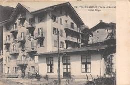 "D9270 ""VAL D AOSTA - VALTOURNANCHE - HOTEL ROYAL"" CART NON  SPED - Italia"