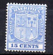 Sello Nº 137  Mauritius - Mauricio (...-1967)