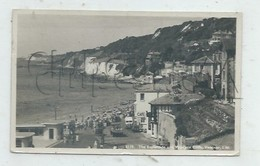 Ventnor (Royaume-Uni, Isle Of Wight) : View Of Cafe, The Esplanade And Western Cliff In 1955 (lively) PF - Ventnor