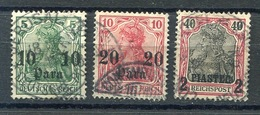 Deutsche Post Türkei - 1 Stempel JERUSALEM .lot - Bureau: Turquie