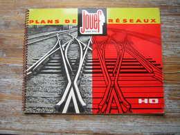 CATALOGUE 1962 PLANS DE RESEAUX JOUEF MARQUE DEPOSE  H O   / TRAIN CHEMIN DE FER - Letteratura & DVD