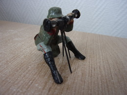 WW Militaria German Soldats And Other Country - Old Elastolin, LINEOL - Observ. - Militaires
