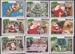 Anguilla  - 1981 Natale Christmas Navidad DISNEY  Set MNH - Anguilla (1968-...)