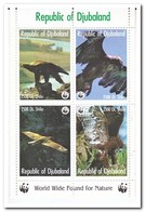 Republic Of Djubaland, Postfris MNH, Birds Of Prey - Somalië (1960-...)