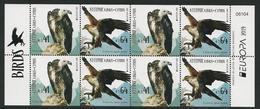"CHIPRE/ CYPRUS/ ZYPERN/ CHYPRE- EUROPA 2019 -NATIONAL BIRDS.-""AVES - BIRDS - VÖGEL -OISEAUX""-  HOJA BLOQUE CARNET - 2019"