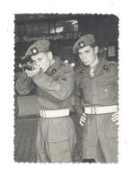Photo ( 7 X 9,5 Cm )- Tir Forain, Snapshot, Shooting Stand,kermesse. .Militaire Belge - MECHELEN/MALINES 1952  (van) - Sports