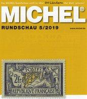 Briefmarken MICHEL Rundschau 5/2019 Neu 6€ Stamps Of The World Catalogue/magacine Of Germany ISBN 978-3-95402-600-5 - Encyclopedias
