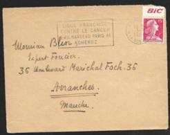 Enveloppe Avec Marianne De Muller-Bande Publicitaire BIC - Advertising