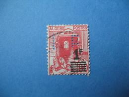 Perforé  Perfin  Algérie ,   Perforation :  EJ 18-5    à Voir - Algérie (1924-1962)