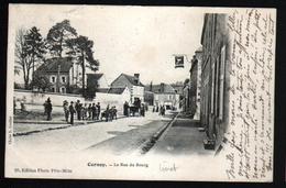 45, Cernoy, La Rue Du Bourg, Boite Mobile Au Verso - Autres Communes