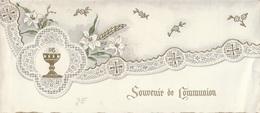 Faire-part : Souvenir De Communion - Double - Communion