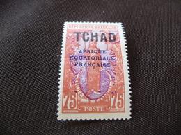 TIMBRE   TCHAD    N  33      COTE 1,80  EUROS    NEUF  SANS  CHARNIÈRE - Chad (1922-1936)