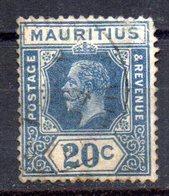 Sello Nº 193  Mauritius - Mauricio (...-1967)