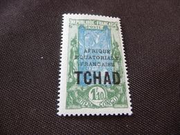 TIMBRE   TCHAD    N  44      COTE 3,25  EUROS    NEUF  SANS  CHARNIÈRE - Chad (1922-1936)