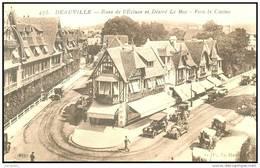 DEAUVILLE     (14) -  LA RUE DE L ECLUSE ET RUE DESIRE LE HOC  - Bb-518 - Deauville