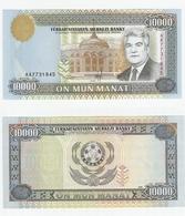 Turkmenistan  P. 10  10000 Manat 1996 UNC - Turkmenistan