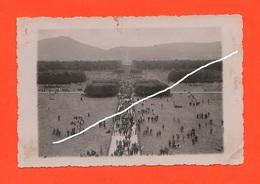 Caserta Parco Reale 1937 Oltre 30,000 Dopolavoristi Da Napoli Old Photo - Lieux