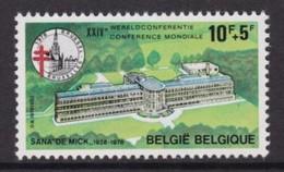 """TIMBRE NEUF DE BELGIQUE - SANATORIUM """"DE MICK"""", A BRASSCHAT N° Y&T 1878 - Hydrotherapy"""