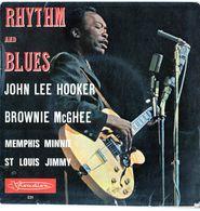 Disque Rhythm And Blues - John Lee Hooker-Brownie Mcghee-Memphis Minnie - Visadisc 231 - Blues
