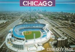 Comisky Park Baseball Stadium, Chicago Illinois,  White Sox Baseball, C1990s Vintage Postcard - Stadi
