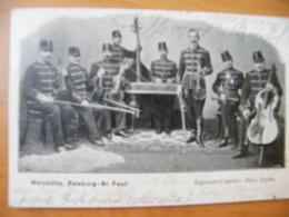 CPA Formation Musicale Tsigane Rom Hongroise 1901 Dos Non Divisé ( Type Taraf) Racz Gyula - Hongrie